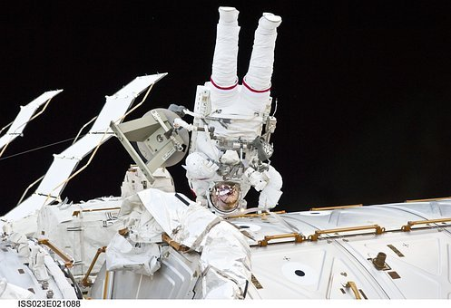 Astronaut, International Space Station, Iss, Space-suit