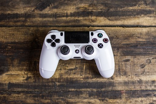Controller, Games, Video, Buttons, Gaming, Playstation