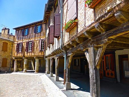 Half-timbered, House, Facade, Old, Architecture