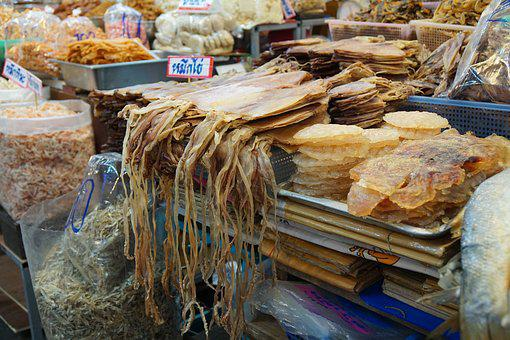 Thailand, Hua Hin, Fish, Thai