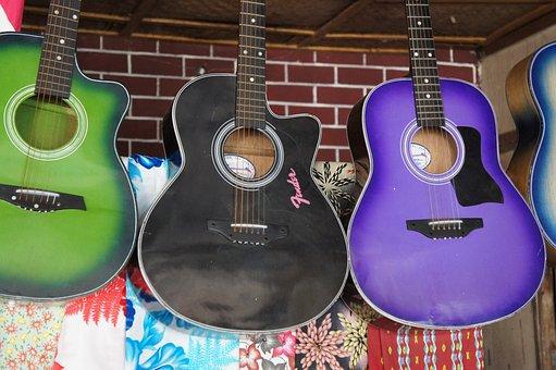 Guitar, Music, Band, Music Store, Acoustic Guitar