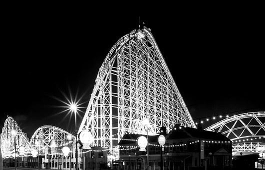 Blackpool, Pleasure Beach, Beach, Pleasure, Coaster