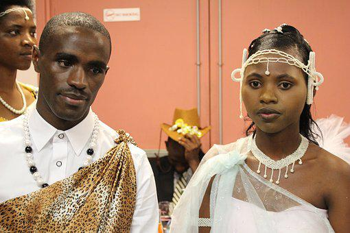 Couple, Wedding, Black People, Love, Lifestyle, Young