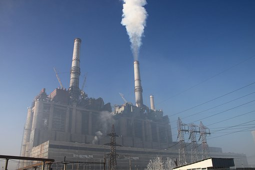Coal, Electricity, Energy, Plant, Power, Smoke, Spews