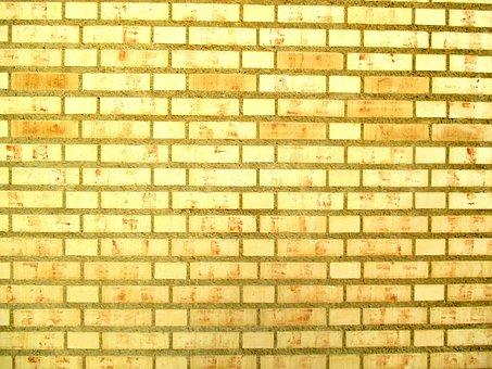 Architecture, Brick Building, Light Bricks, Shiny Gold