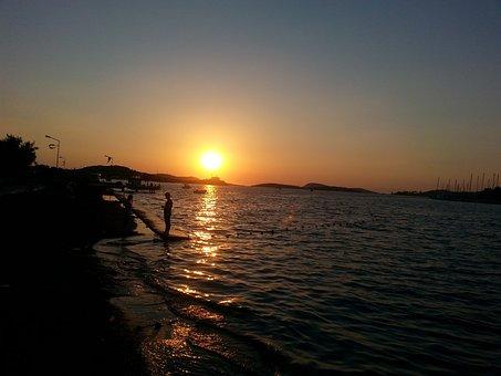 Sunset, Ghosh, Marine