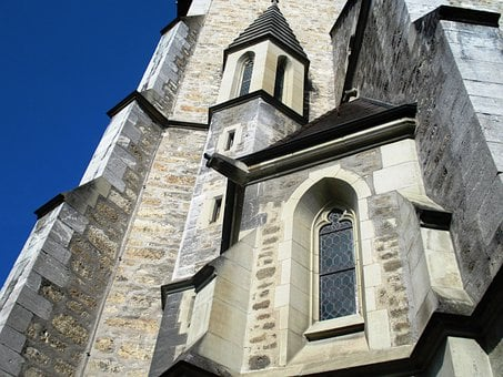 Architecture, Church Of St Florin, Facade, Window