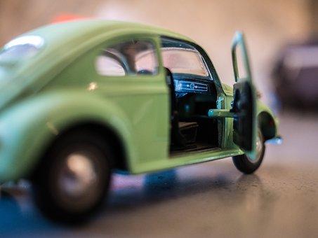 Car, Beetle, Volkswagen, Toy, Vehicle, Old, Retro, Vw