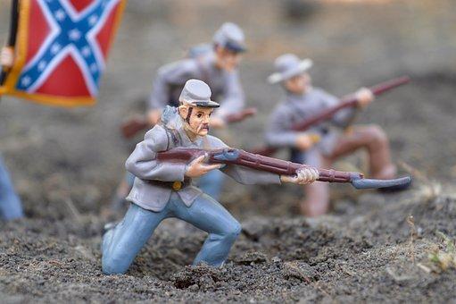 Soldier, Confederation, Army, Civil War, America