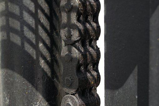 Chain, Grease, Last, Strong, Force, Black, Forklift