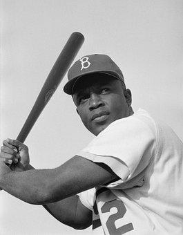 Jackie Robinson, American Baseball Player