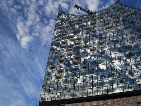 Elbphilharmonie Südansicht, Major Project