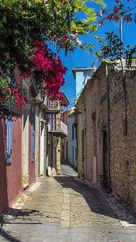 Cyprus, Lefkara, Village, Street, Architecture, House