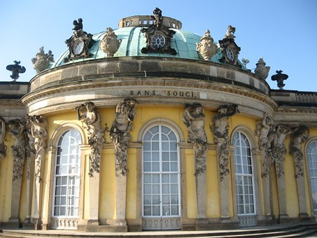 The Palace, Decorating, Architecture, Monument, France