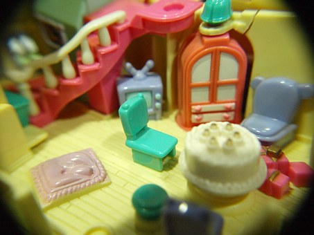 Toy, Miniature, Doll House, Tiny, Home, Little, House