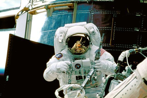 Astronaut, Space-suit, Space, Nasa, Aerospace