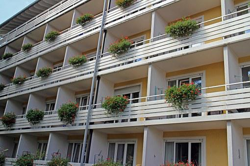 Balconies, Multi-family Home, Apartments, Home Front
