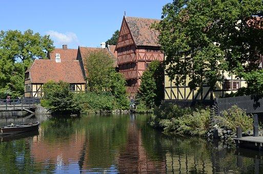 The Old City, Aarhus, History, Jutland, Denmark