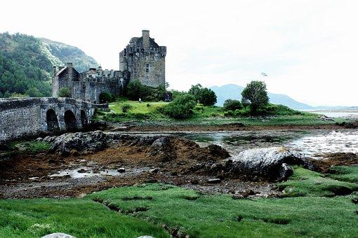 Eilean Donan Castle, Castle, Scotland, Landmark