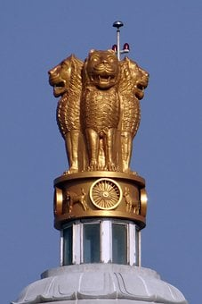 National Emblem, Lion Capital, Ashoka Chakra