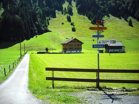 Engelberg, Switzerland, Scenic, Tourism, House