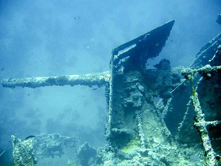 Underwater, Diving, Thistlegorm, Egypt, Red Sea, Wreck