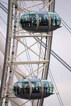 London Eye, Ferris Wheel, Big Wheel, Observation Wheel