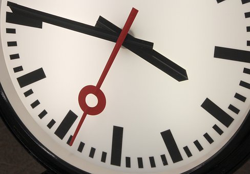 Clock, Time, Pointer, Seconds, Scale, Minutes, Second