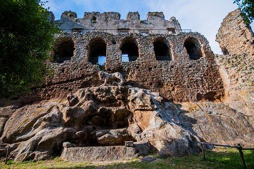 Weekend, Ruins, Italy, Lazio, Dead City, Monterano