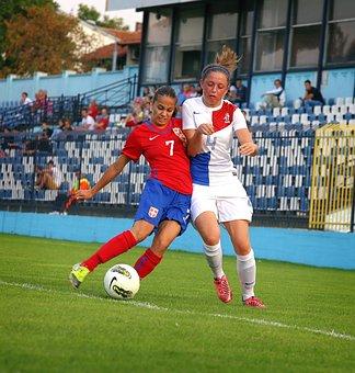 Duel, Football, Ball, Soccer, Football Players, Game