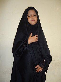 Arab, Girl, Iranian, Veiled, Muslim, Culture, Islam