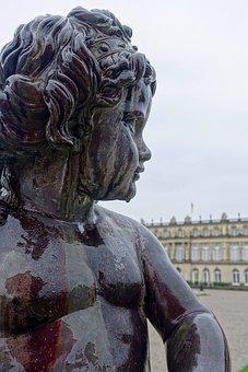 Statue, Cherub, Sculpture, Angels, Cupid, Ornate