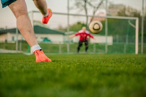 Football, Shot On Goal, Door Husband, Nike, Mercurial
