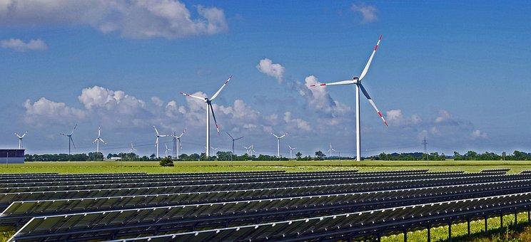Solarpark, Wind Park, Renewable Energy, Solar Modules