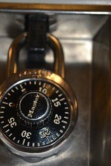 Lock, Locker, School Supplies, Master Lock, Storage