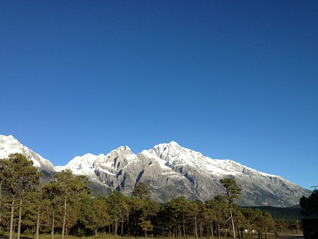Lijiang, The Jade Dragon Snow Mountain, Peak
