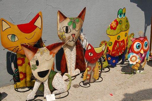 Doll, Hallstatt, Iron Doll, Cat
