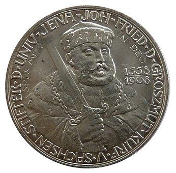 Mark, Saxony, Friedrich Schiller University, Coin
