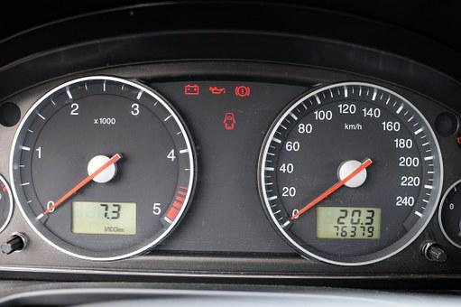 Ford, Mondeo, Auto, The Console, A Speedometer