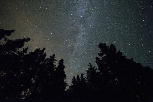 Constellation, Dark, Evening, Exploration