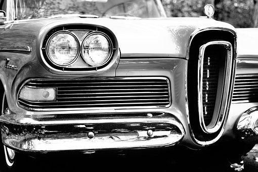 Antique, Automobile, Automotive, Bumper, Car, Classic