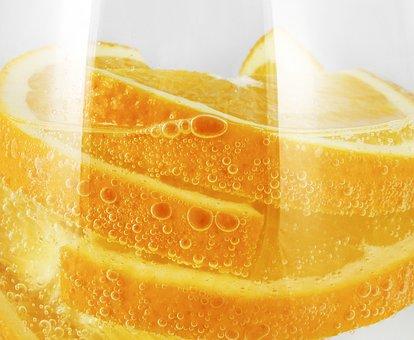 Oranges, Sparkling Water, Tropical Flavor, Tropics