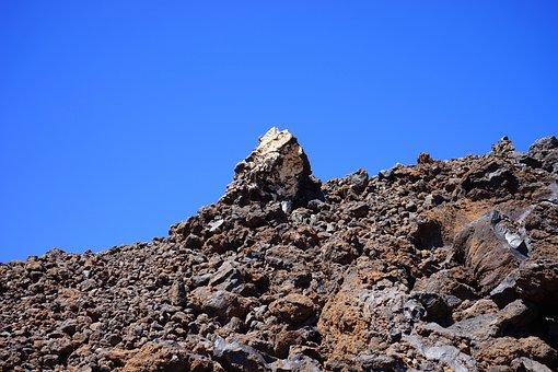 Lava, Lava Rock, Lava Fields, Boulders, Distinctive