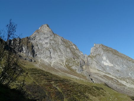 Höfats, Mountains, Summit, Small Höfats, Upper Hole