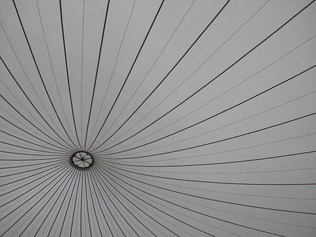 Dome, Tent, Lines, Pattern