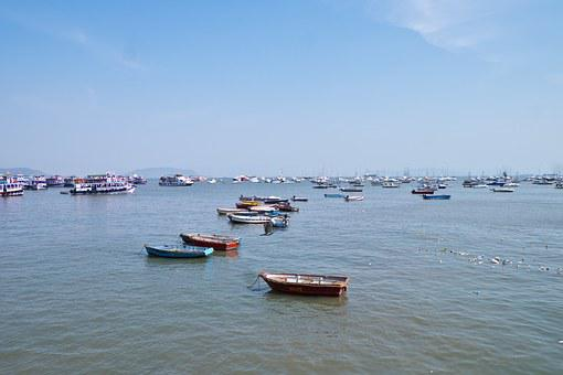 Boat, Little Boat, Sloop, Water, India, Air, Blue