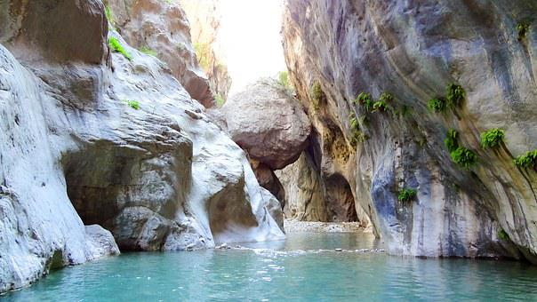 Canyon, Turkey, Goynuk, Kemer, Summer, Canyon Goynuk