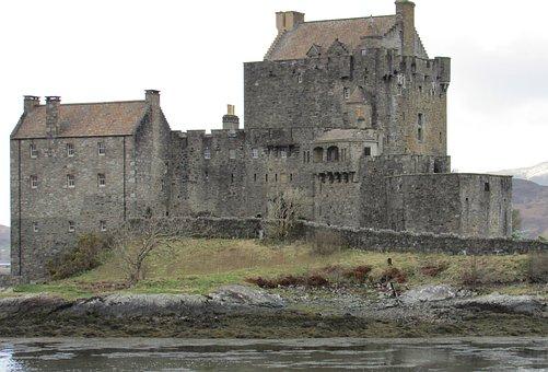 Eilean Donan Castle, Scottish, Old, West Coast Castles