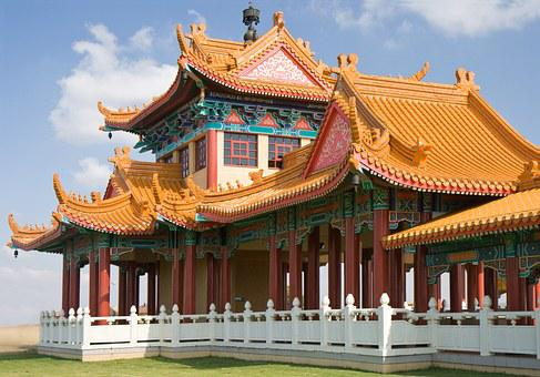 Temple, Buddhism, Religion, Worship, Nan Hua Temple