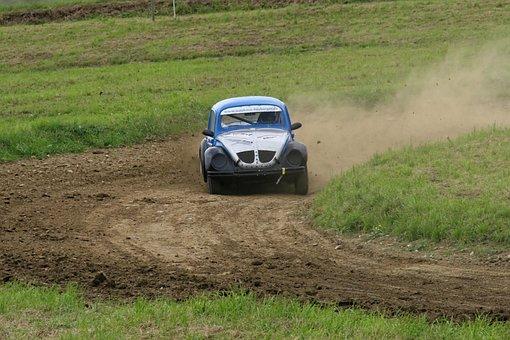 Autocross, Motorsport, Vw, Volkswagen, Beetle Run
